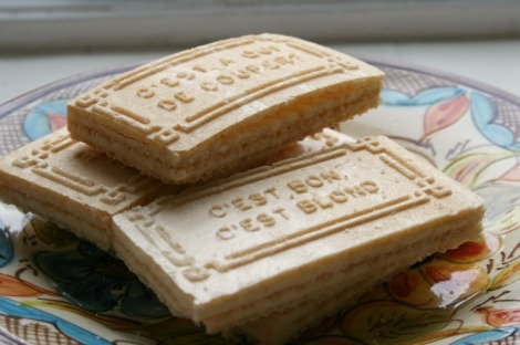 French wafer biscuits | bluebirdsunshine