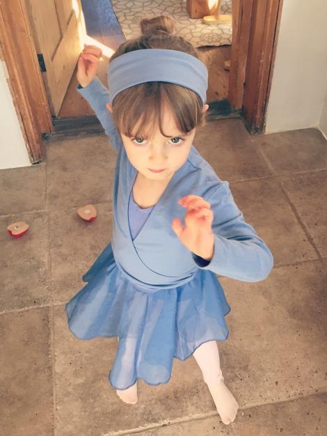 Fierce Baby Ballerina | Bluebirdsunshine