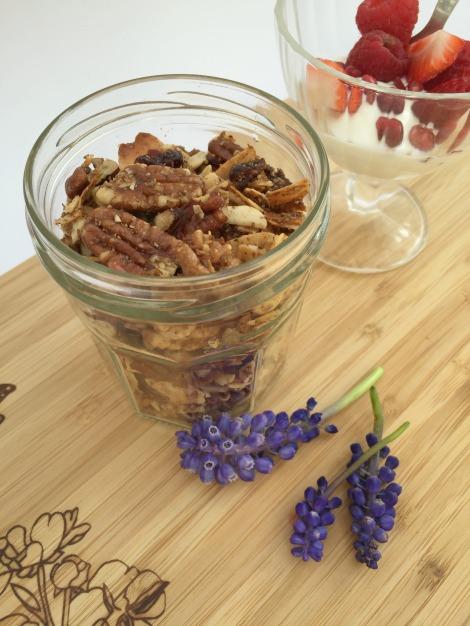 Grain free granola | bluebirdsunshine