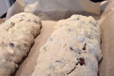 Biscotti log   bluebirdsunshine