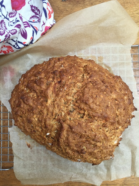 Honey Walnut Soda Bread | bluebirdsunshine