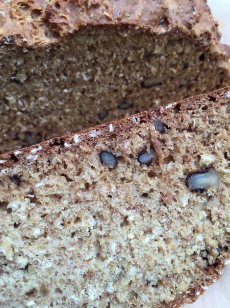 Honey Walnut Soda Bread | bluebirdsunshine