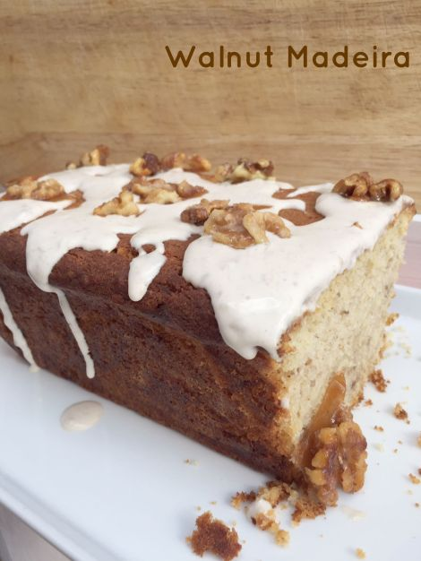 Walnut Madeira Cake | Bluebirdsunshine