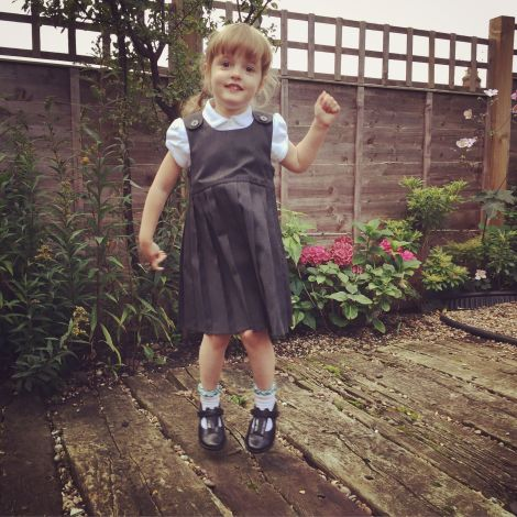 First School Day | bluebirdsunshine