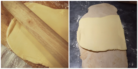 Making Rough Puff Pastry | Bluebirdsunshine