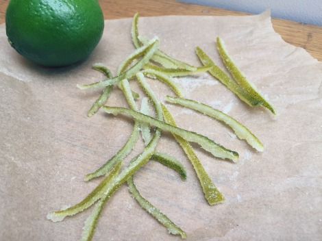 Candied lime peel | BBSS