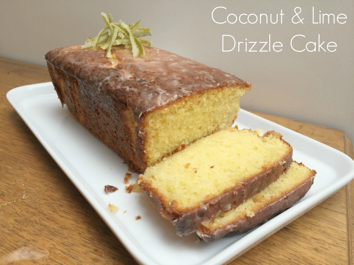 Coconut and Lime Drizzle Cake | BBSS