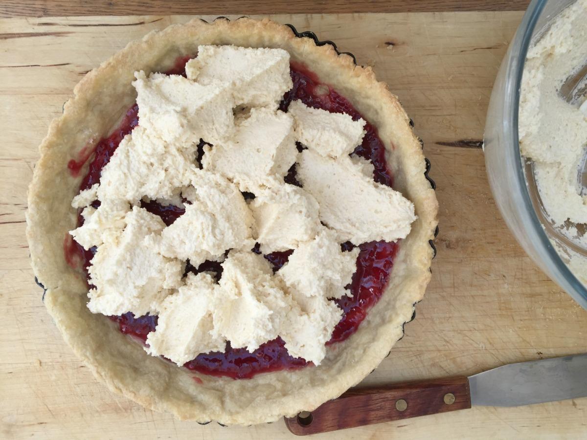 Filling bakewell tart | BBSS